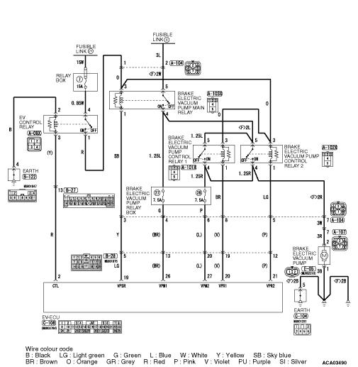 Code No. C2011: ke electric vacuum pump control relay 2 coil ...