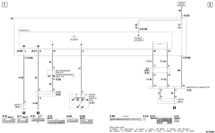 mmc i-miev ELECTRIC  MOTOR REMINDER BUZZER (правый руль)