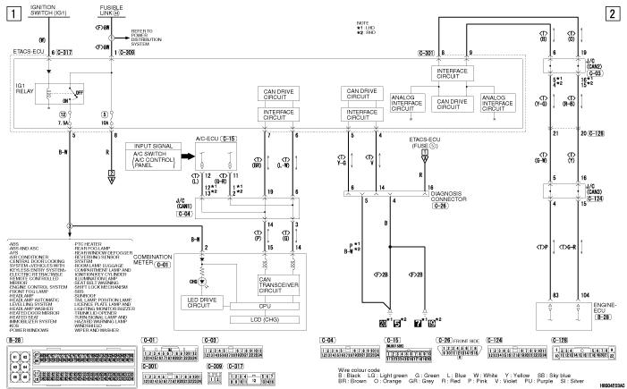 mmc Lancer X 2008 генератор BWC