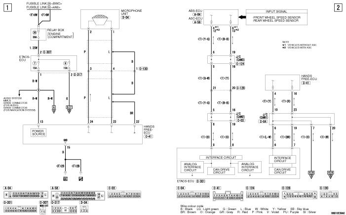 mmc Lancer X 2008 HANDS FREE SYSTEM левый руль