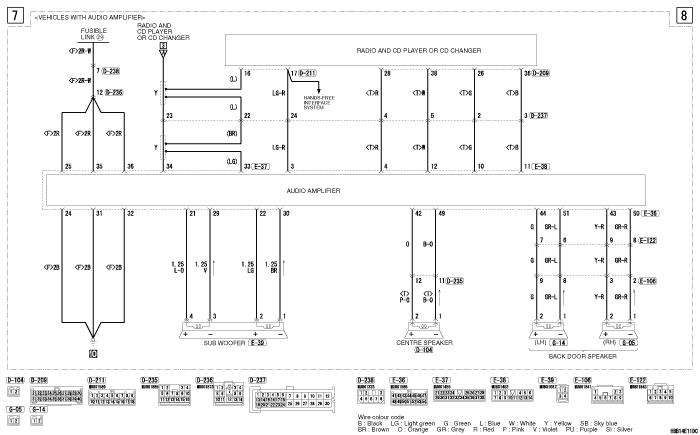 mmc Pajero 4 2012 REAR  SEAT ENTERTAINMENT SYSTEM RHD (VEHICLES WITHOUT MMCS)