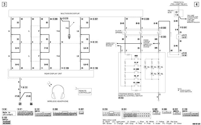 mmc Pajero 4 2012 REAR  SEAT ENTERTAINMENT SYSTEM левый руль (VEHICLES WITH MMCS)