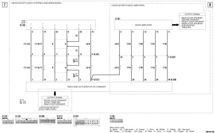 mmc Pajero 4 2012 USB  BOX