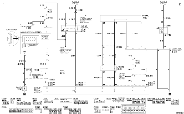 mmc Pajero 4 2012 IMMOBILIZER  SYSTEM 6G7